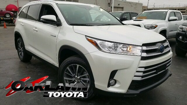 New 2019 Toyota Highlander Hybrid Xle V6 Suv In Oak Lawn 91789